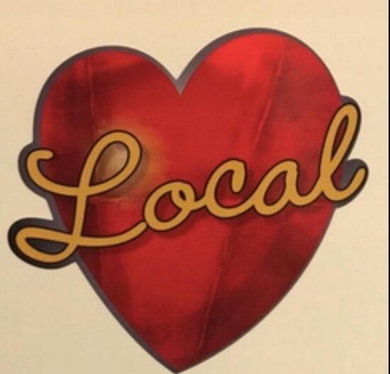 Love Local Heart